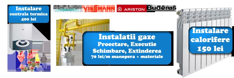 instalator centrale termice